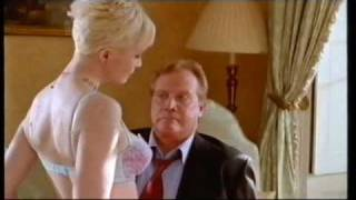 """Lysette Anthony meets the"""" President""""."""