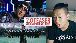 2.0 - Official Teaser Reaction [Tamil] | #Chinepaiyen Reacts | Rajinikanth