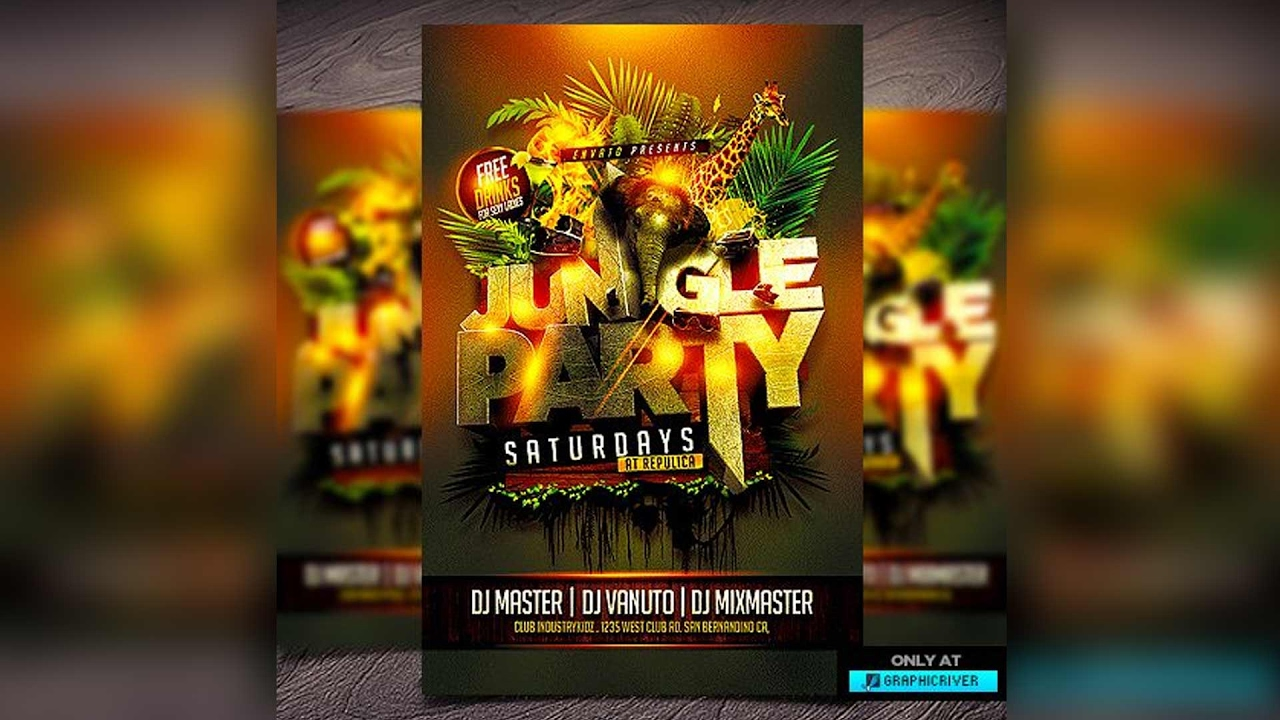 how to make flyers photoshop cs6 psd event logo cd cover graphic