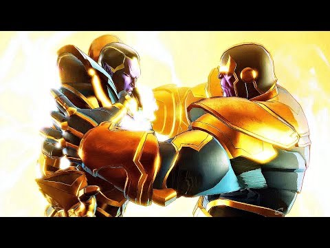Thanos Kills His Son Thane & Saves Universe (Marvel Ultimate Alliance 3)