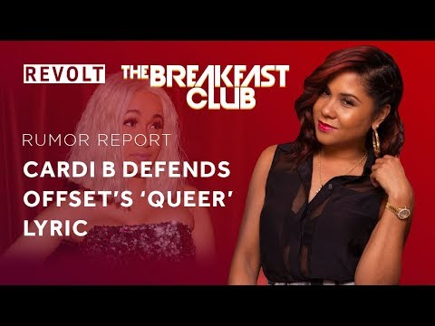 Cardi B defends Offset's 'Queer' lyric | Rumor Report