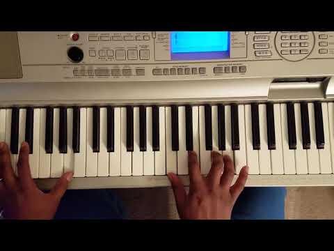 JOHN LEGEND - SELFISH FEAT KANYE WEST & SLUM VILLAGE (PIANO TUTORIAL)