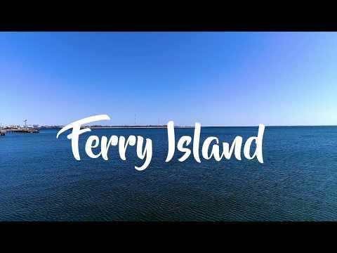 Ferry Island - DJI P4P