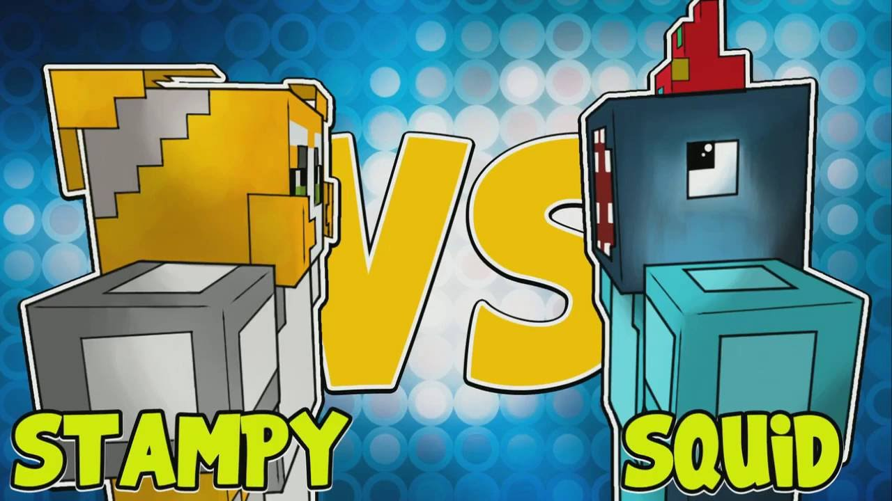 Building Time Stampy And Squid