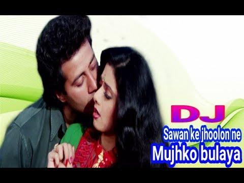 Sawan Ke Jhoolon Ne Mujhko Bhulaya || Top DJ Remix song || Dholki Mix Dj