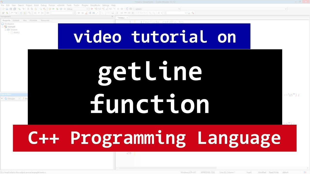 File Handling | C++ Programming Video Tutorials for Beginners