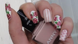 SPRING FLOWER NAIL ART TUTORIAL / LindasBeautyWorld