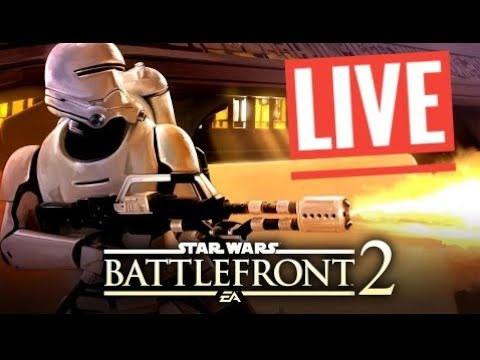 Star Wars Battlefront 2 Galactic Assault  [ PS4 ] live gameplay
