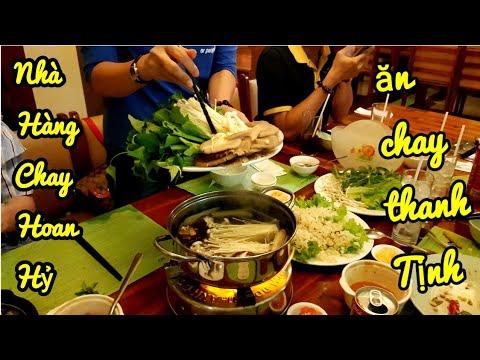 Lạc vào nhà hàng chay Hoan Hỷ Quận 3 ngỡ ngàng món chay cực ngon | saigon travel Guide