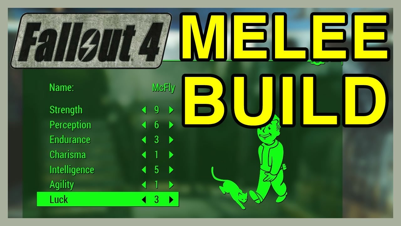 Fallout 4 Melee Starting Build | WikiGameGuides - YouTube