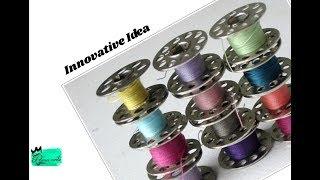 Innovative idea with bobbins | simple DIY idea