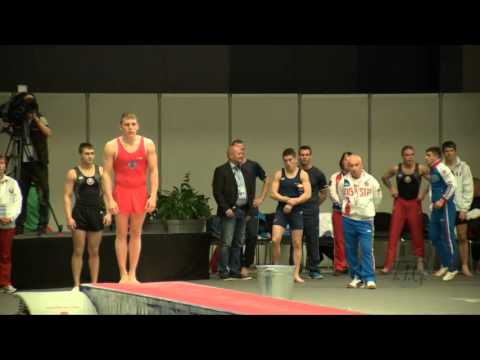 NOSKOV Grigory (RUS) - 2015 Trampoline Worlds - Qualification TU Routine 1