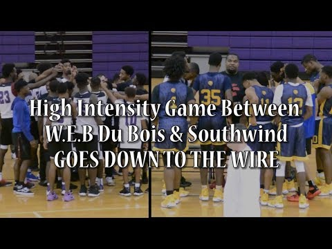 Fast, Up-Tempo Game Between Southwind & W.E.B Du Bois GOES DOWN TO THE WIRE | RECAP