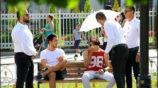 مقلب الشاب المشهور والحارس الشخصي في تركيا