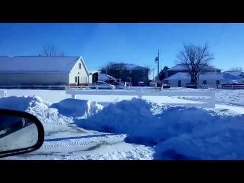 Heavy snow visiting Scottsbluff Nebraska