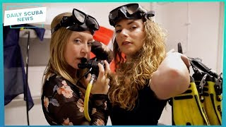 Arctic Divers Video Goes Viral! | Daily Scuba News (w/ Alannah)