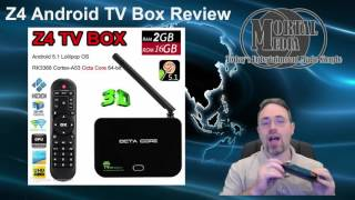 Android TV Box Review - Z4