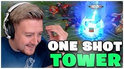 ONE SHOT TOWER | Best Of Stream Highlight Perrick | LoL