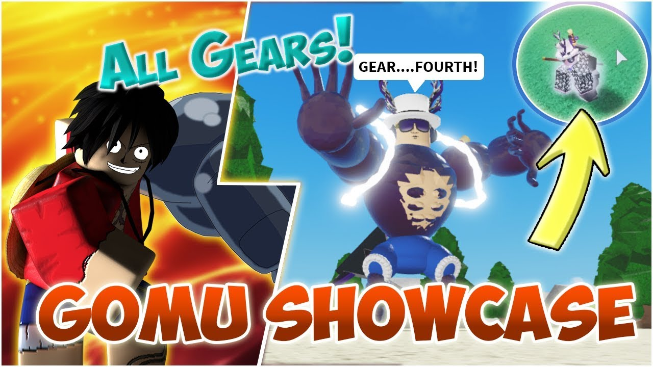 GOMU FULL SHOWCASE    GEAR 4!!! | Roblox | One Piece Final Chapter 2