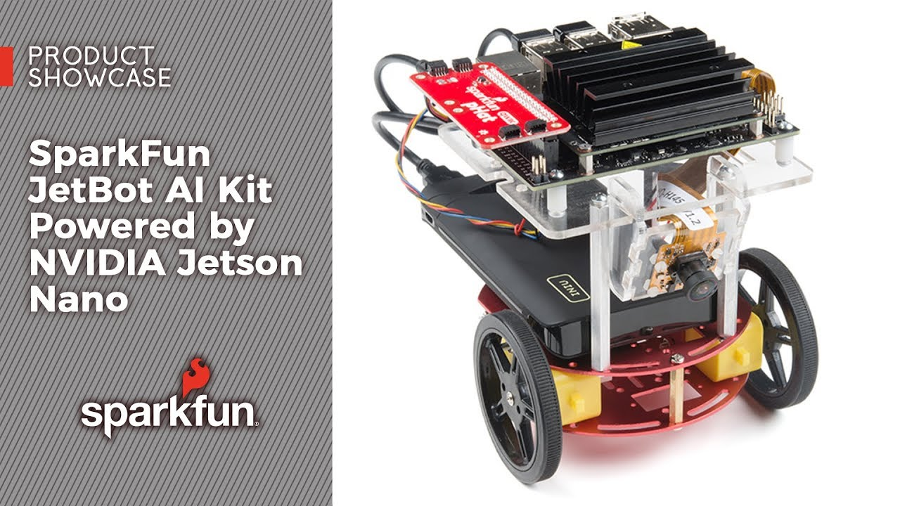 SparkFun JetBot AI Kit Powered by NVIDIA Jetson Nano - KIT