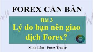 ( Forex Căn Bản ) Bài 3: Những lý do bạn NÊN giao dịch Forex