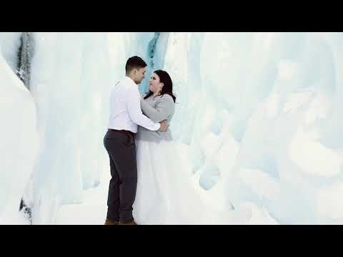 Imagine getting married on a glacier in Alaska   