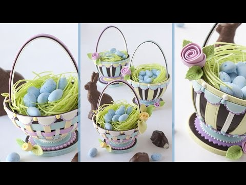 All-Chocolate Easter Basket