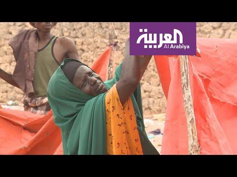 أوضاع إنسانية صعبة تواجه النازحين في المخيمات بسبب موسم الأمطار  - 16:53-2018 / 11 / 10