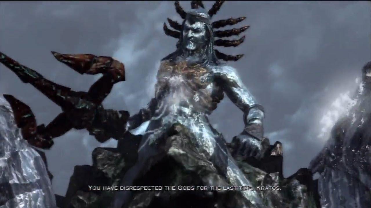 God of War III Walkthrough PART 3 [Poseidon Boss] Gameplay ...