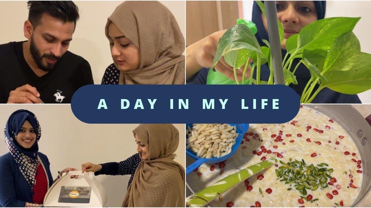 പെരുന്നാളിന് ഒരുങ്ങിയാലോ ???• A day in my life vlog •  Fruit payasam • Fried egg biriyani