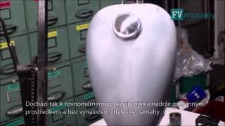 FV modely - Přípravek na opravu nádrží motorek kaučukem 2015
