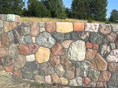 Mur Z Kamienia Polnego Youtube