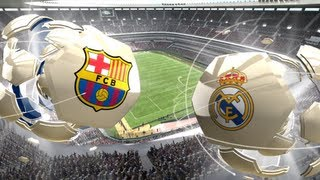 FIFA 13 - Xbox 360 Gameplay HD - FC Barcelona vs. Real Madrid