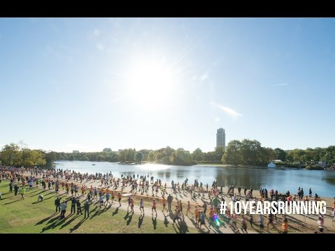 Royal Parks Foundation Half Marathon - London - #10YearsRunning