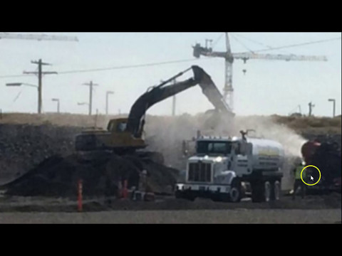 Hanford Hole Filled In with DIRT After Radiation Release Confirmation Past Explosion Cover-up