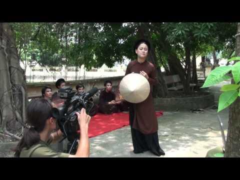 VTV1 ghi hình Hát Xẩm tại Đình Hào Nam