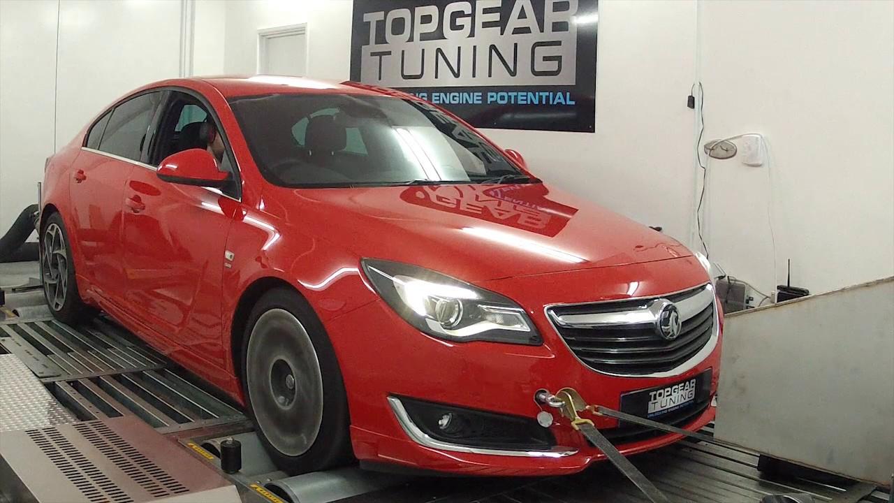 Vauxhall/Opel Insigina 2 0 Turbo SRi VX-Line - Stage 1 Remap and Dyno Run