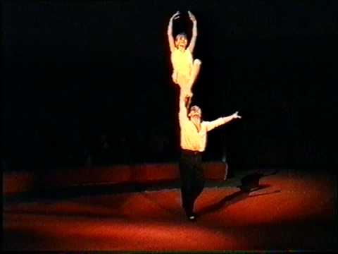 "Acrobatic Adazio.1996g.  Circus group ""Jauniba"" Latvija (Riga) Juliana & Gennadij"