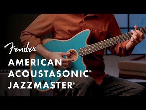The American Acoustasonic Jazzmaster | American Acoustasonic Series | Fender