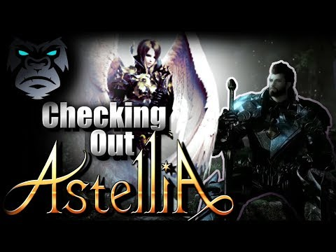 TRYING OUT ASTELLIA ONLINE | New MMORPG 2019 / 2020 | Dungeons? Group Content? Raids? |  #Sponsored