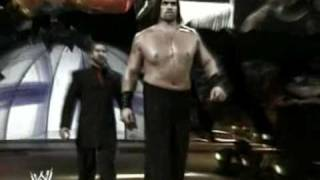 2006 5-19 WWE Smackdown - Great Khali vs. The Undertaker Jud