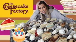 Buying EVERY CHEESECAKE From The CHEESECAKE FACTORY