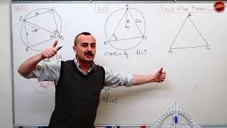 Trigonometri 16 PDF Ekli (Sinüs Teoremi) Yapamıyorum diyenler gelsin