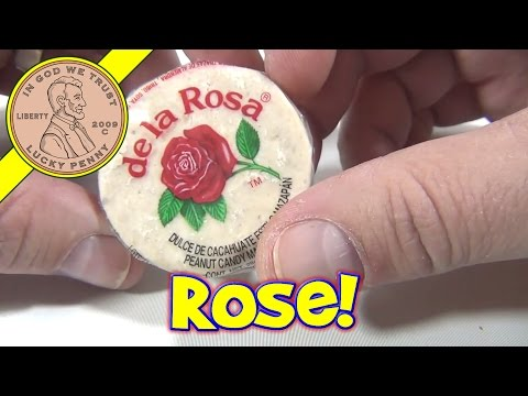 De la Rosa Mazapan - Marzypan Style - Mexican Candy Tasting