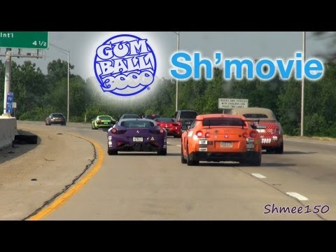 NEW YORK TO LOS ANGELES - Gumball 3000 2012 Movie