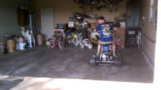 Motorized Barstool Racer Donuts