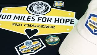 Second 100 Miles for Hope Challenge offers exciting new features