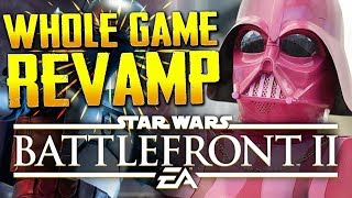 Star Wars Battlefront 2: They Changed the Whole Game! NEW CUSTOMIZATION & PROGRESSION UPDATE
