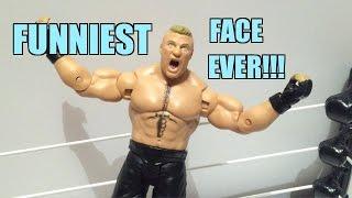 WWE ACTION INSIDER: Brock Lesnar Mattel Superstars Series 53 Basic Wrestling Figure Review