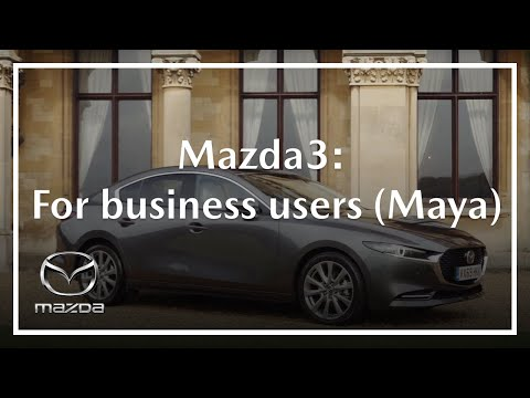 All-new Mazda3 Saloon For Business Users: Maya